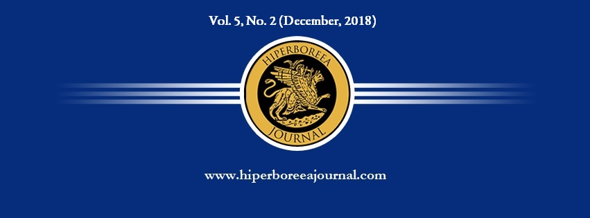 Call for Papers Hiperboreea Journal, Vol  5, No  2 (December, 2018